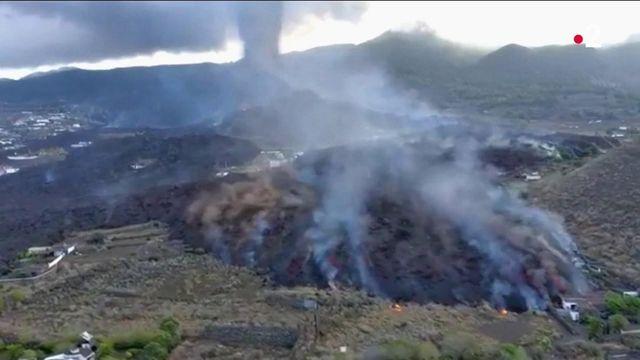 Volcan aux Canaries : un nouvel épisode explosif