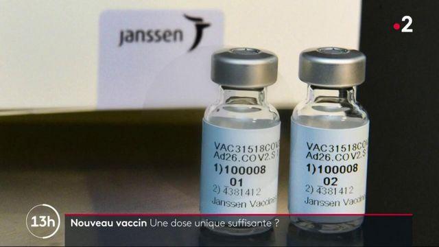 Covid-19 : le vaccin de Janssen ne nécessite qu'une seule injection