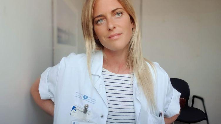LucieJoly, psychiatre à l'hôpital Saint-Antoine, à Paris (APHP). (FRANCEINFO)