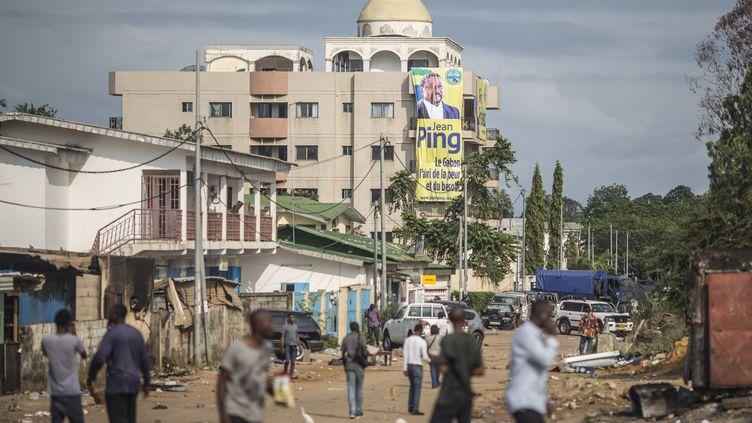 Libreville, capitale du Gabon, est en proie a de violents affrontements. Pourtant, les expatriés français se sentent en sécurité. (MARCO LONGARI / AFP)