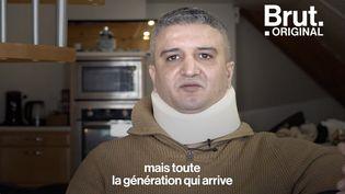 """VIDEO. """"J'ai vécu le pire jour de ma vie"""" : Agressé sauvagement à Besançon, Khaled témoigne (BRUT)"""