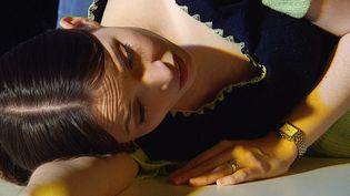 La Nymphe Issé qui dans son sommeil, apprend que le berger qu'elle aime est en fait le dieu Apollon.  (France 3 / Culturebox)