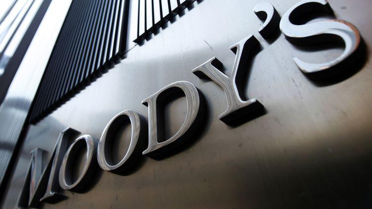Les bureaux de l'agence Moody's à New York (Etats-Unis), le 2 août 2011. (MIKE SEGAR / REUTERS)