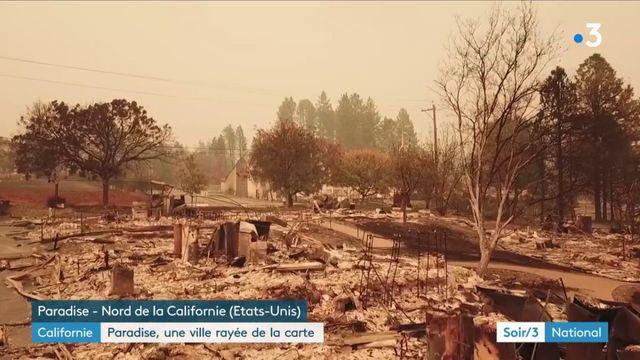 Etats-Unis : une ville de Californie complètement détruite par les incendies