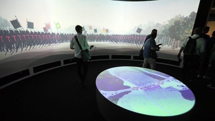 Le musée Azincourt 1415 offre une immersion dans la célèbre bataille (MATTHIEU BOTTE / MAXPPP)