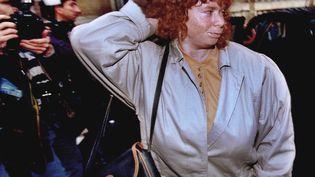 Murielle Bolle à la cour d'appel de Dijon, en novembre 1993. Agée de 15 ans en 1984 au moment des faits, elle a aujourd'hui 48 ans. (ROBERT PRATTA / REUTERS)