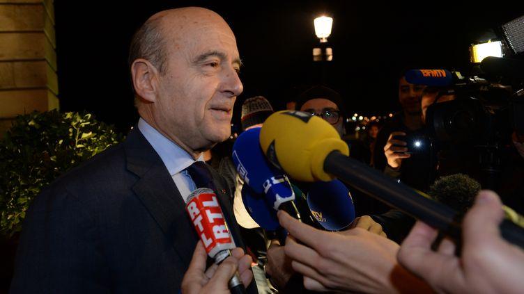 allain Juppé, le 29 novembre 2014 à Bordeaux. (MEHDI FEDOUACH / AFP)