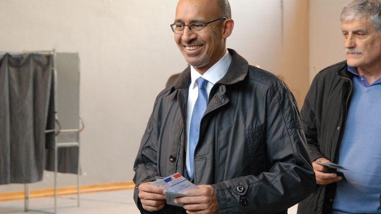 Le premier secrétaire du Parti socialiste, Harlem Désir, le 23 mars 2014 à Paris. (PATRICE PIERROT / CITIZENSIDE / AFP)