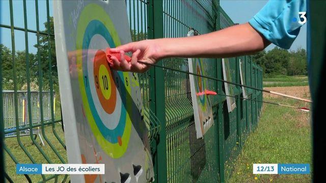 Alsace : les écoliers organisent leurs JO