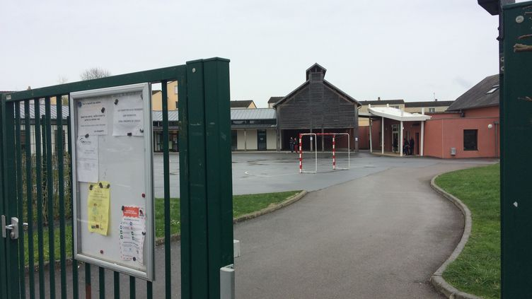 Ecole primaire et maternellede Berd'huis (Orne) (RADIO FRANCE / ARIANNE GRIESSEL)