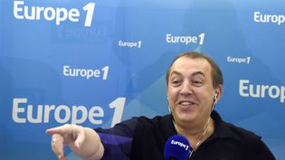 Jean-Marc Morandini, photographié ici en mars 2015, dans les studios d'Europe 1. (DOMINIQUE FAGET / AFP)
