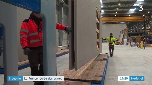 Industrie : la France recrée des usines