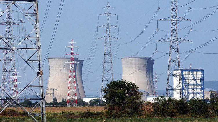La centrale nucléaire du Bugey, dans l'Ain. (PASCAL GEORGE / AFP)