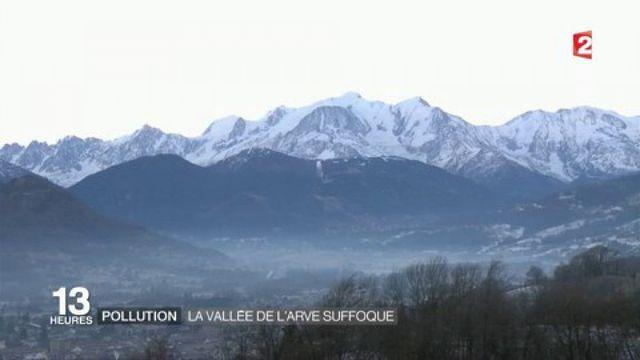 Pic de pollution : un triste record pour la vallée de l'Arve