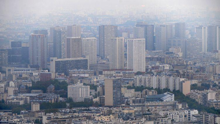 Le 13e arrondissement de Paris où réside une importante communauté asiatique, le 8 octobre 2009. (BORIS HORVAT / AFP)
