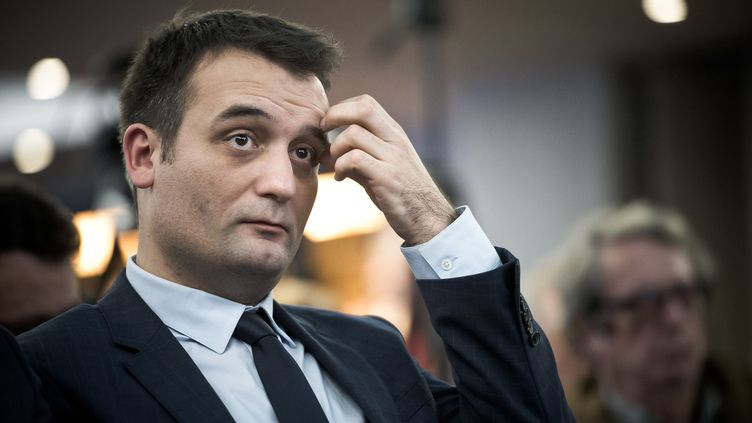 Florian Philippot, le 2 décembre 2016 à Paris. (NICOLAS MESSYASZ/SIPA / NICOLAS MESSYASZ / AFP)