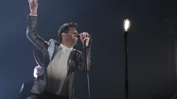 Hugh Coltman en concert (ERIC BALEDENT / MAXPPP)