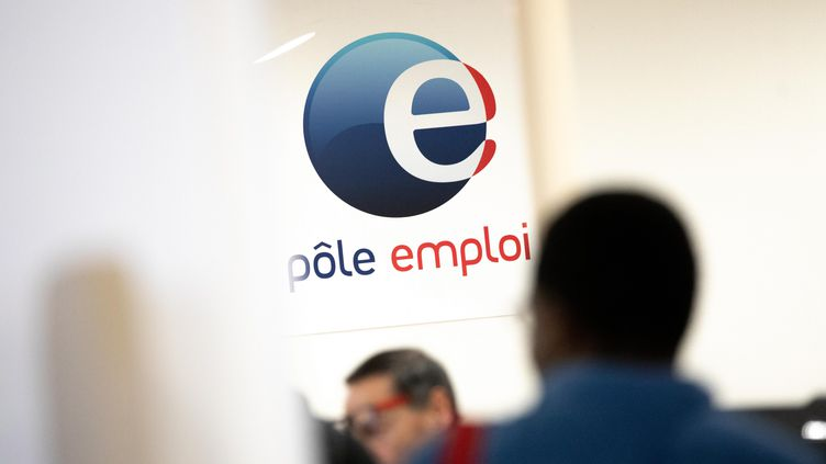 L'agence Pôle emploi Vitruve, située dans le 20e arrondissement de Paris, le 20 septembre 2018. (MAXPPP)