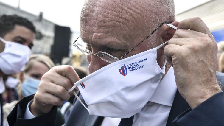 Bernard Laporte, président de la FFR (ALAIN JOCARD / AFP)