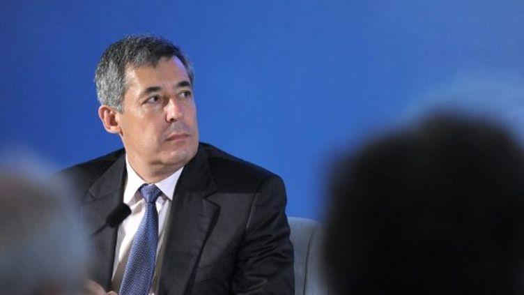 """Henri Guaino, la plume du président, revient sur la connotation du mot """"travail"""" (AFP)"""