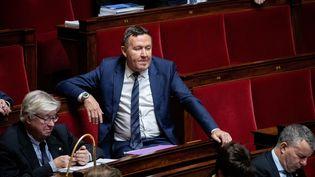 Eric Diard, député Les Républicains des Bouches-du-Rhône, lors d'une séance de questions au gouvernement à l'Assemblée nationale, le 27 novembre 2018. (MAXPPP)