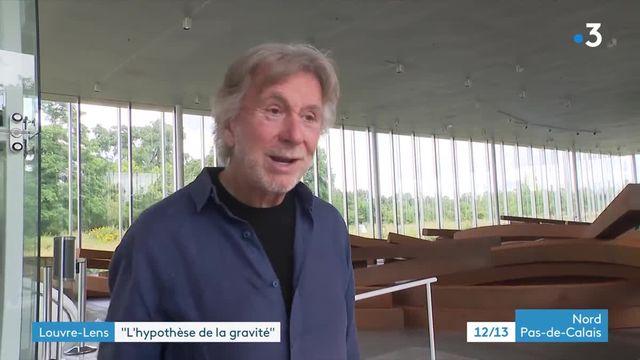 Bernar Venet au Louvre Lens