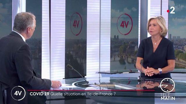 Coronavirus: la région donnera «deux masques tissus gratuits pour la rentrée au 500000 lycéens d' Île-de-France», indique Valérie Pécresse (LR)r
