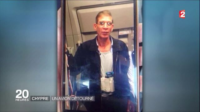 Avion détourné à Chypre : le pirate de l'air s'est rendu