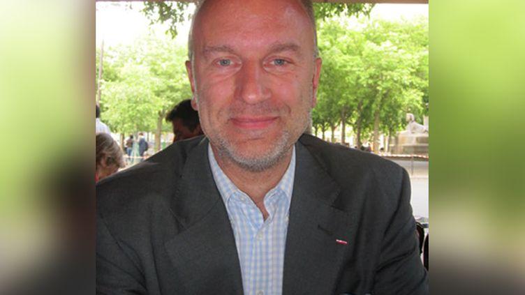 Guillaume Ancel. (LAURE DE VULPIAN / RADIO FRANCE)