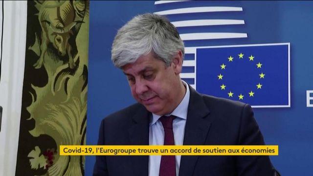 Coronavirus : l'Eurogroupe trouve un accord de soutien aux économies