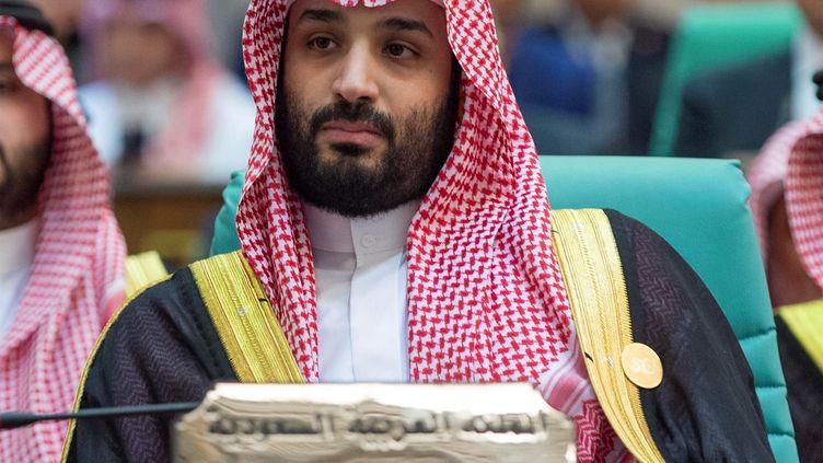 Le prince héritier saoudien Mohamed ben Salmane, le 1er juin 2019, à La Mecque (Arabie saoudite). (BANDAR ALGALOUD / SAUDI KINGDOM  / ANADOLU AGENCY / AFP)