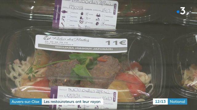 Restauration : à Auvers-sur-Oise, des plats de chefs dans les rayons du supermarché