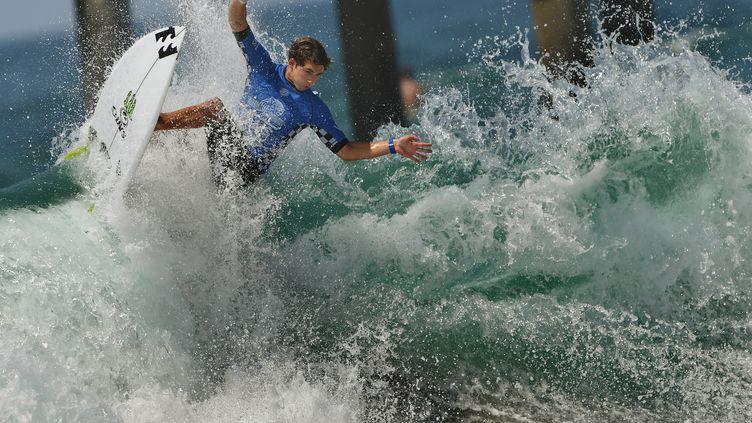 Le surfer amateur Griffin Colapinto (MARK RALSTON / AFP)