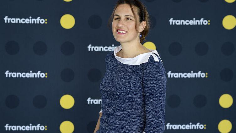 Laetitia Bernard, journaliste à franceinfo. (CHRISTOPHE ABRAMOWITZ / RADIO FRANCE)
