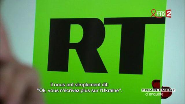 """Un journaliste raconte à """"Complément d'enquête"""" son passage à la rédaction de RT News"""