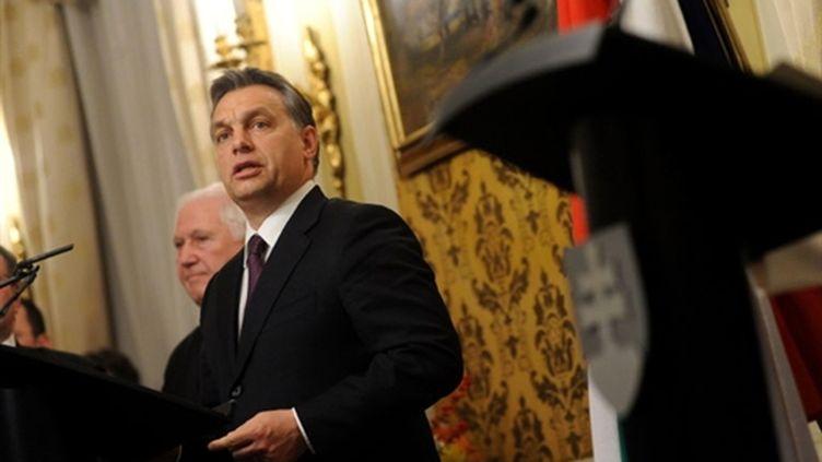 Le premier ministre hongrois, Viktor Orban, le 14 décembre 2010. (AFP - SAMUEL KUBANI)