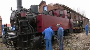 Une fête qui célèbre les locomotives à vapeurse tient ce week-end àArques, dans le Pas-de-Calais. (France 3)