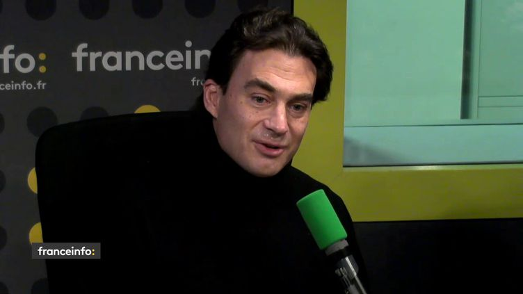 Guillaume de Menthon, producteur, invité de franceinfo le 1er décembre 2017. (FRANCEINFO / RADIO FRANCE)