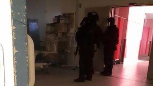 Un homme suspect est entré dans le CHU de Caen (Normandie) le 9 mars, provoquant l'intervention de 180 membres des forces de l'ordre. (DR)