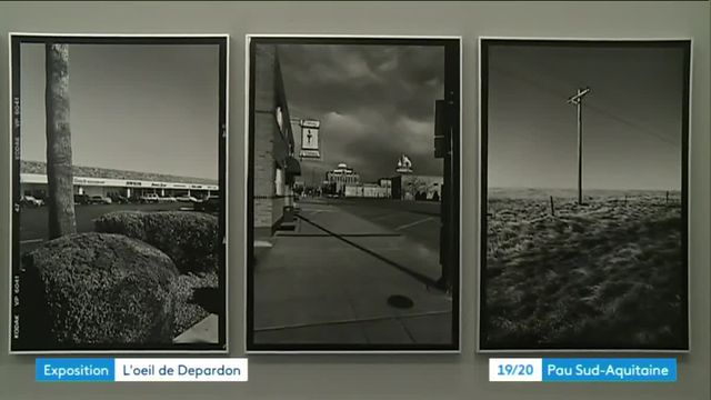 Exposition Depardon à Pau