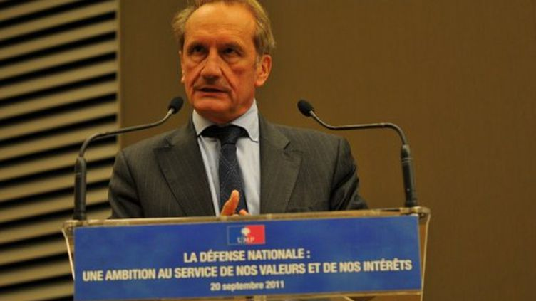 Le ministre de la Défense Gérard Longuet (AFP)