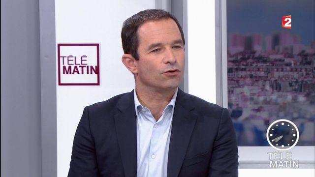 """Les 4 Vérités - Benoît Hamon : """"Emmanuel Macron, il est comme François Hollande et Nicolas Sarkozy"""""""