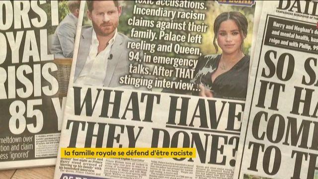 """Royaume-Uni : la famille royale """"n'est pas du tout raciste"""" selon le prince William"""