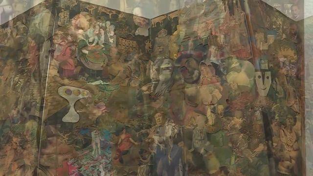 Expo Claude Simon à Collioure