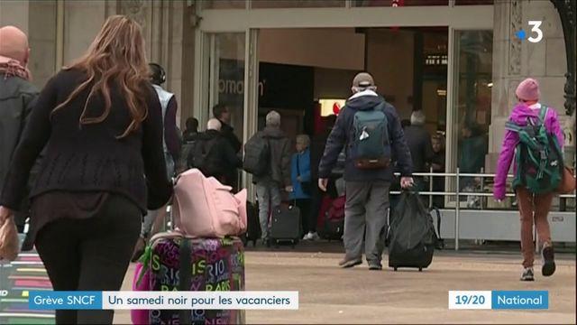 Grève SNCF : un samedi de galères pour les vacanciers