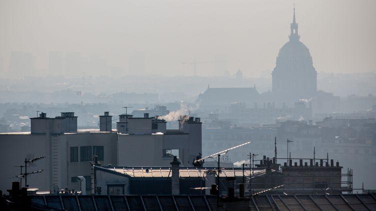 Vue de Paris, le 21 février 2018. (AURELIEN MORISSARD / MAXPPP)