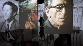 Rétrospective du sculpteur Alberto Giacometti au Grimaldi Forum et à la Fondation Saint-Paul de Vence cet été. (MARIO GARCIA SANCHEZ / EFE / NEWSCOM /MAXPPP)