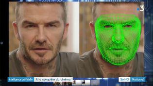 Beckham parfaitement doublé en langue arabe (France 3)