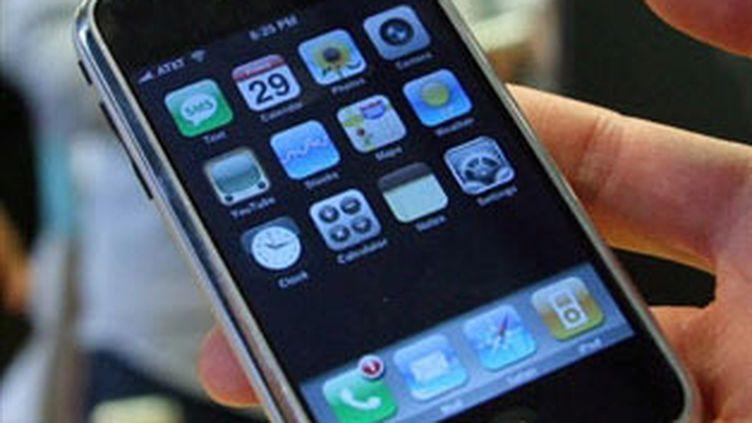 Un iPhone (AFP/GABRIEL BOUYS)