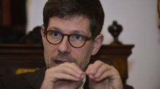 Philippe Charlier,médecin légiste et anthropologue. (RODRIGO BUENDIA / AFP)